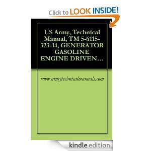 US Army, Technical Manual, TM 5 6115 323 14, GENERATOR GASOLINE ENGINE