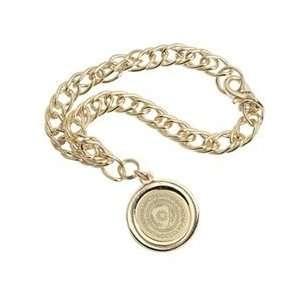 St. Johns   Charm Bracelet   Gold