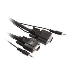 to Male Cable w/ 3.5mm Stereo Audio Cable Model RCW H9026: Electronics