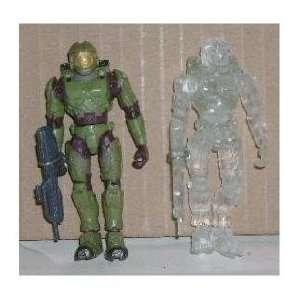 Halo 2 Active Camo Spartan + Master Chief   Exclusive Mini