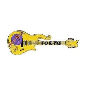 Hard Rock Cafe Pin 18955 Tokyo Yellow Prince Guitar