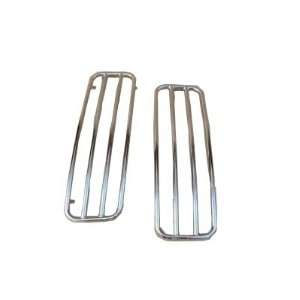 Chrome Top Rails for Harley Davidson Touring Hard