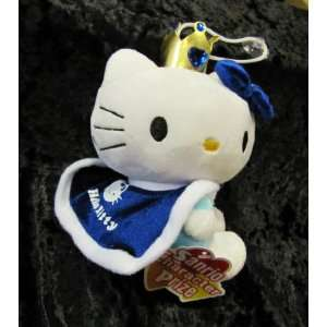 Blue Hello Kitty Princess 8 Inch Plush Doll Automotive