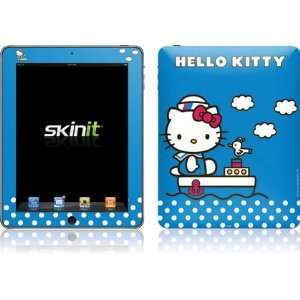 Hello Kitty Sailing Vinyl Skin for Apple iPad 1 Computers