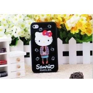 Limited iPhone 4G/4S Hello Kitty in Shirt Style Hard Case