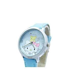 Blue Hello Kitty with Bear ~ Girls Watch