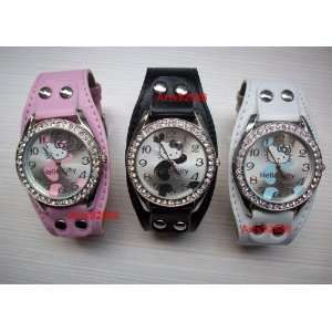 Hello Kitty Scribble Line Watch (Choice of Black or Pink