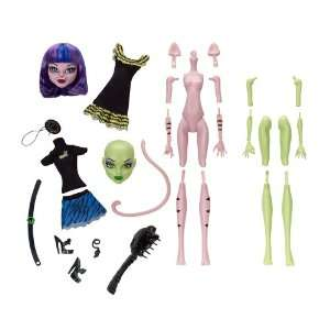 Monster High Create A Monster Witch Cat Girl Starter Set  Toys