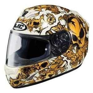 HJC FS 15 TERROR MC31 MOTORCYCLE Full Face Helmet Sports