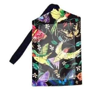 Hummingbirds Butterfly Butterflies Luggage Tag by Broad Bay