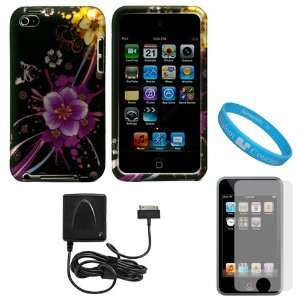 Piece Crystal Hard Case Cover for Apple iPod Touch 4th Generation