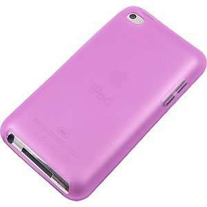 TPU Skin Cover for iPod touch (4th gen.) Hot Pink Electronics