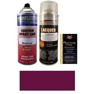 Oz. Fresh Plum Metallic Spray Can Paint Kit for 1973 AMC Javelin (F3