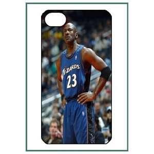Jordan MJ Chicago Bulls NBA iPhone 4 iPhone4 Black Designer Hard Case