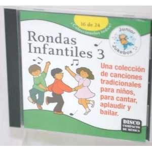 Rondas Infantiles 3 Junior Jukebox CD   SPANISH   Cada cancion viene