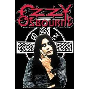 Ozzy Osbourne (In Chain Mail, Huge) Music Poster Print