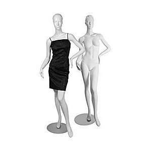 Cameo White Female Mannequin With Head Arts, Crafts