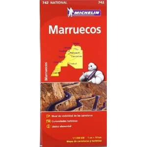 Marruecos. Mapa National 742 (9782067172258) Michelín