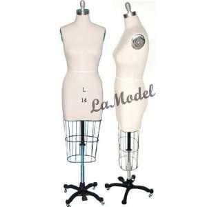 Half Body Female Dress Form Size 14 mannequins