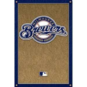 Milwaukee Brewers   Logo   Poster (22x34): Home & Kitchen