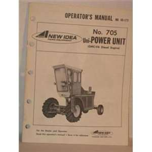 manual for No. 705 Uni  power unit Diesel engine Avco New Idea Books