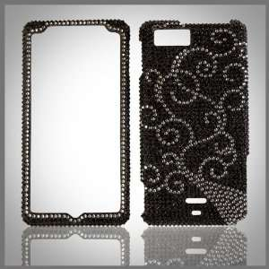 bling case cover Motorola Droid X MB810 Cell Phones & Accessories