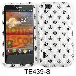 CELL PHONE CASE COVER FOR LG MYTOUCH E739 BLACK WHITE
