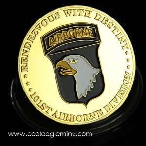 U.S. Army 101st Airborne Division Challenge coin