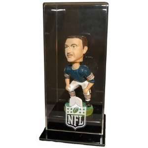 Single Bobble Head Doll Display Display Case with Engraved NFL Team
