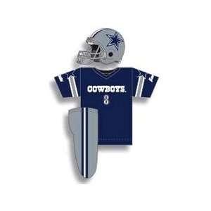 NFL Dallas Cowboys Youth Helmet & Uniform Set Medium