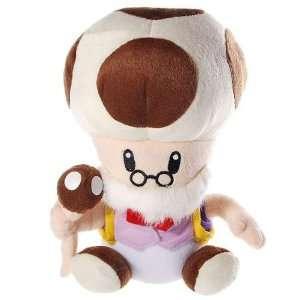 Super Mario Old Toad Plush Doll