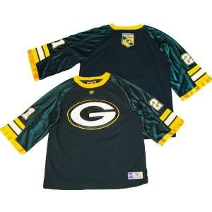 Green Bay Packers Boys (8 20) Green Jersey Style Shirt