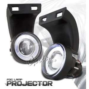 94 01 Dodge Ram Halo Projector Fog Lights Automotive