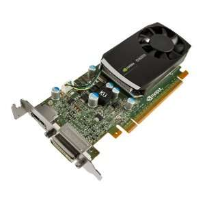 NVIDIA Quadro 400 by PNY 512MB DDR3 PCI Express Gen 2 x16 DVI I DL and