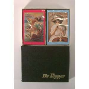 Vintage Victorian Dr. Pepper Playing Card Set: Everything