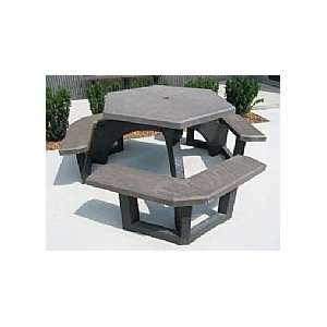 Concord Recycled Plastic Picnic Table Patio, Lawn
