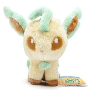 6 Pokemon Center Pokedoll Plush Doll USA   Leafeon: Toys