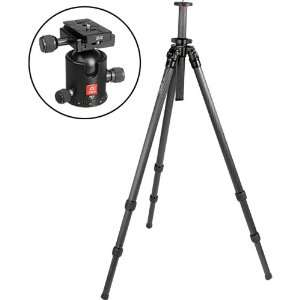 Section Carbon Fiber Tripod with BB 2 Ball Head Kit