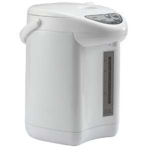 Aroma AAP 325W 3 Liter Electric Pump Air Pot, White: