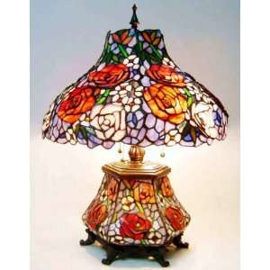 Tiffany Style Stained Glass Table Desk Lamp T18215