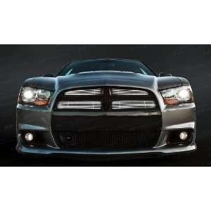 Dodge Charger Chrome Billet Top Grille 2011 2013