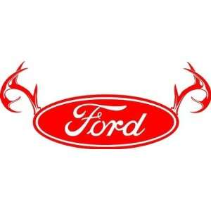 Ford Truck Rear Window Decal Easy Install Pro. Grade Vinyl Decal Made
