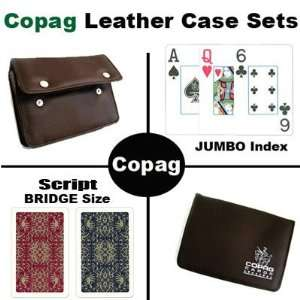 New High Quality Copag Branded Leather Case Script Bridge