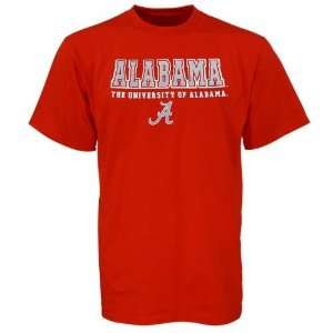 Alabama Crimson Tide Red Cover 2 T shirt