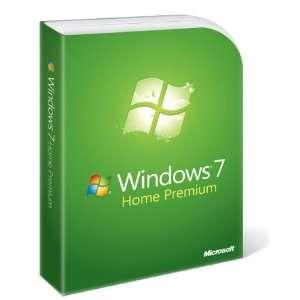 Microsoft Windows 7 Home Premium DVD Software