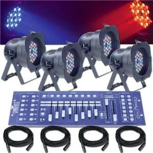 LED Par 56 System Stage Lighting Package Electronics