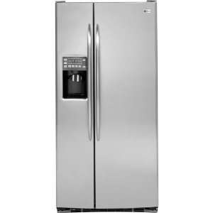 GE Stainless Steel Side by Side Freestanding Refrigerator