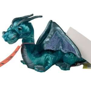 Douglas Toys Jade Blue Dragon Plush Toy Toys & Games