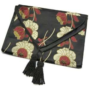 Silky Decorative Embroidered Oriental Table Runner
