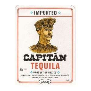 Capitan Tequila Gold 80@ 1 Liter Grocery & Gourmet Food